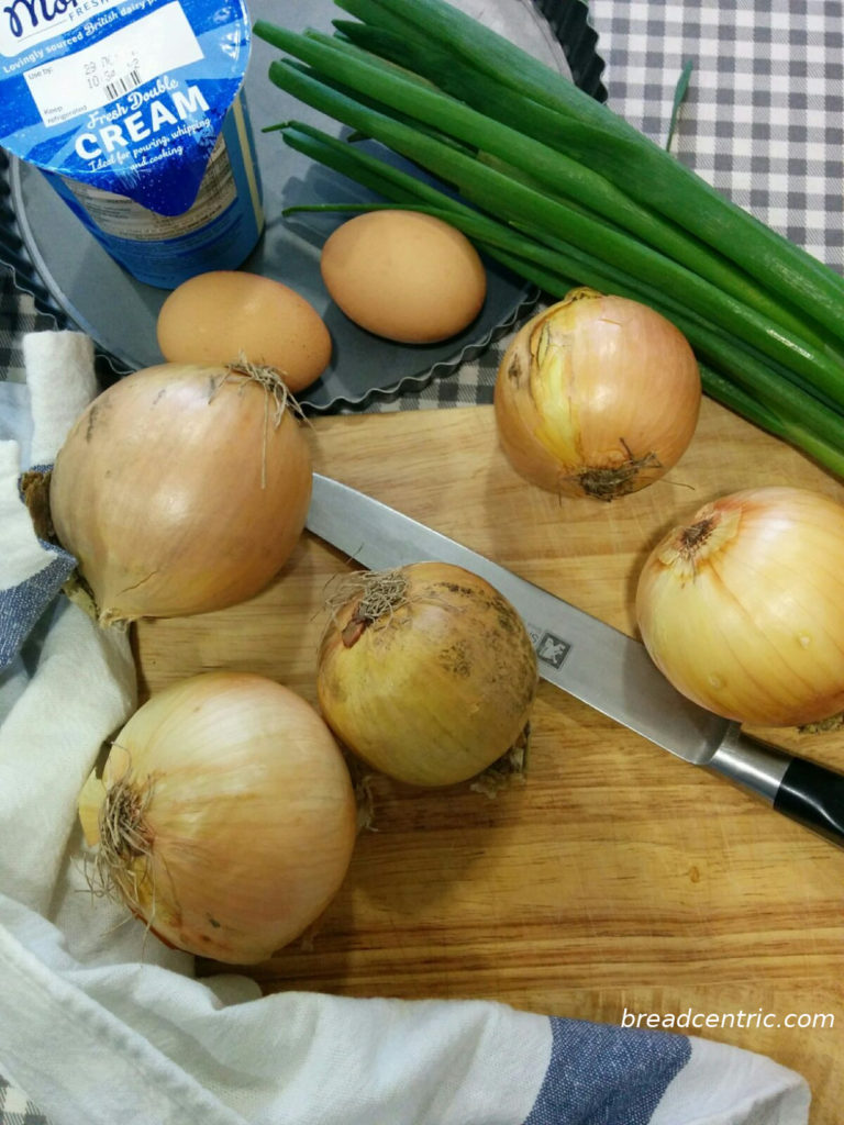 Onion and herbs filling